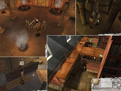 Bonez Adventures:Tomb of Fulaos &#8211; 3D RPG/adventure game